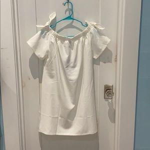 NWT White sleeveless dress